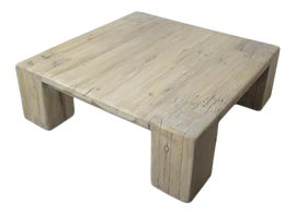 Image of Newly Made Rustic Coffee Tables