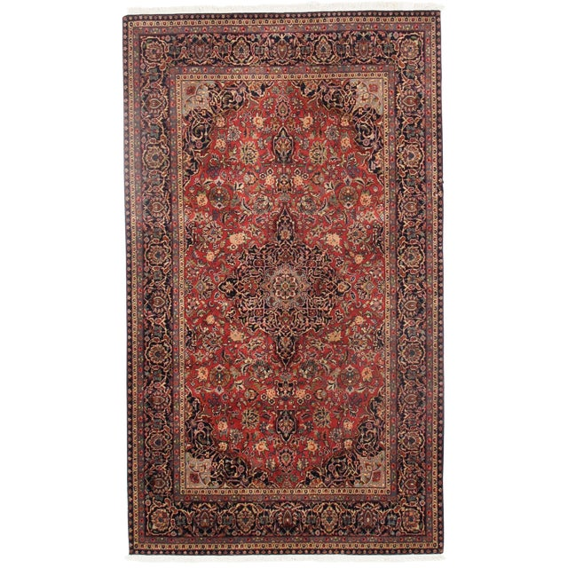"Traditional Pasargad N Y Persian Kashan Design Rug - 5'1"" X 8'7"" For Sale"