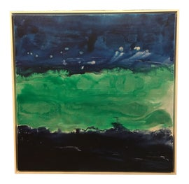 Image of Navy Blue Paintings