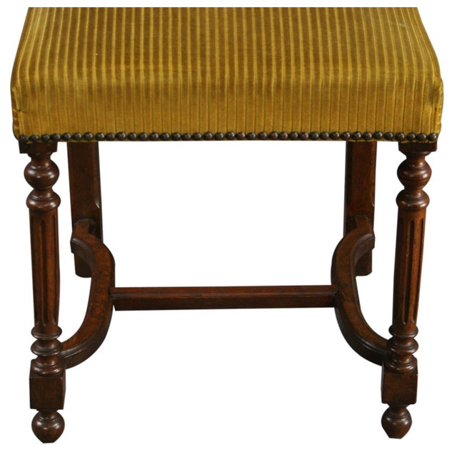 Antique French Dining Chairs Henry II - Set of 6 - Image 7 of 10