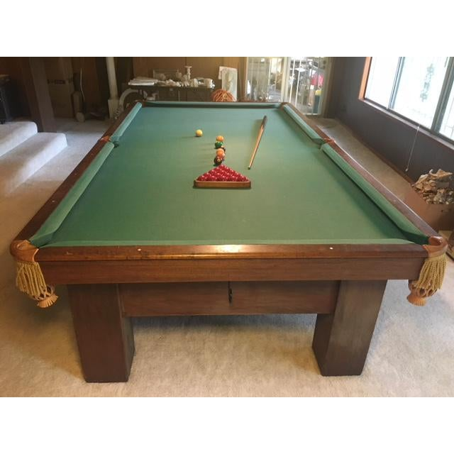 19th Century Slate Top Snooker Table For Sale - Image 13 of 13
