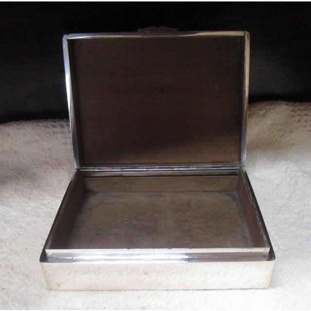 Sterling silver cigar box marked Hung Chong (or Cheong) & Co., silversmiths & retailers, Canton, China, circa 1860-1930....