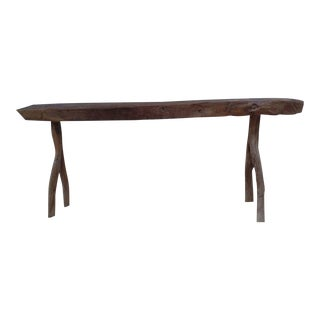 Unique French Modern Craftsman Bench For Sale