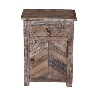 Rustic Adelisa Bedside Table