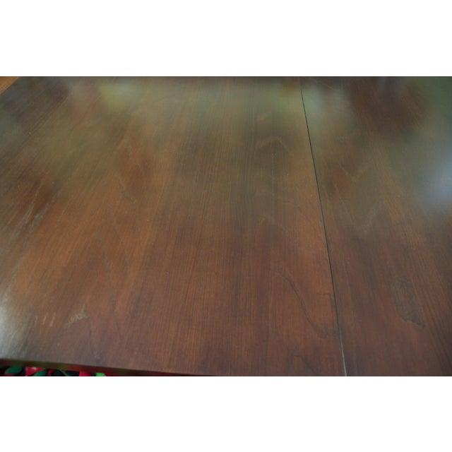 Ethan Allen Horizon Collection Dining Table - Image 3 of 8