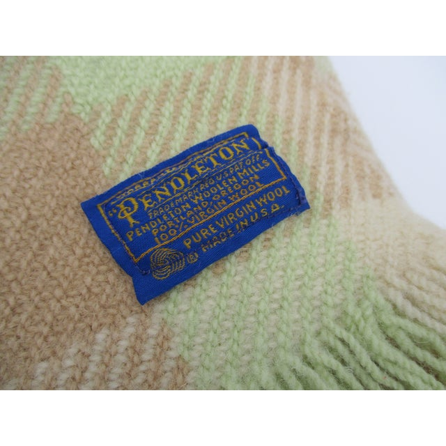 Vintage Pendleton Stadium Camp Blanket - Image 5 of 11