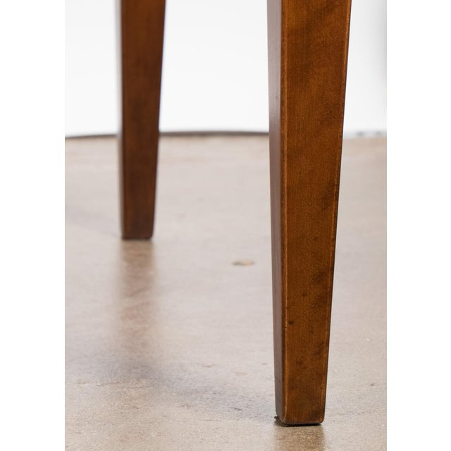 French Art Deco Burled Elm Table - Image 9 of 9