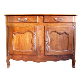 19th Century Provincial French Cherry Sideboard or Buffet