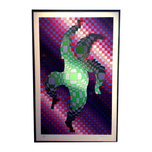 """""""Dancing Figures"""" Signed Lithograph - Image 1 of 5"""