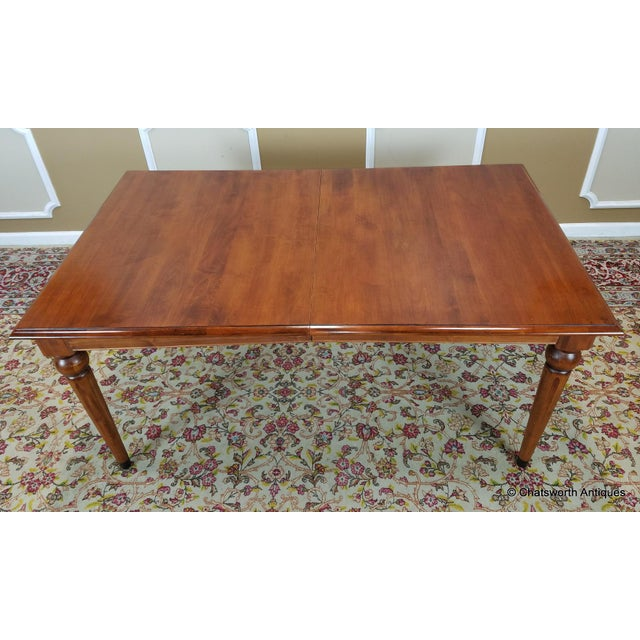 Ethan Allen Country Crossing Dining Set - Set Of 7