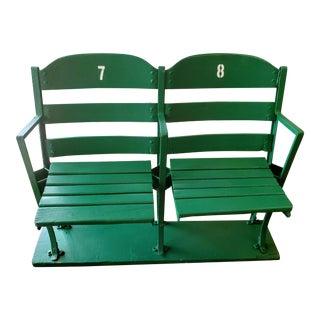 Detroit Tiger Vintage Briggs Stadium Double Seat For Sale