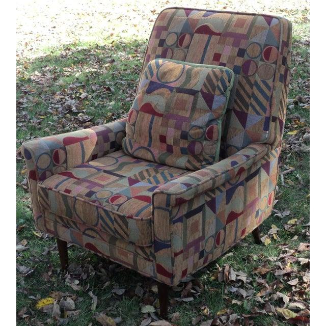 Mid-Century Modern Lounge Club Chair - Image 2 of 9