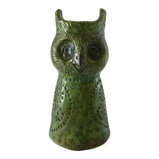 C1968 Aldo Londi Inspired Ceramic Owl