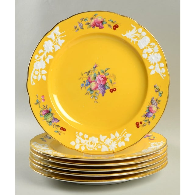 Spode Dinner Plate - Set of 6 For Sale In Greensboro - Image 6 of 6