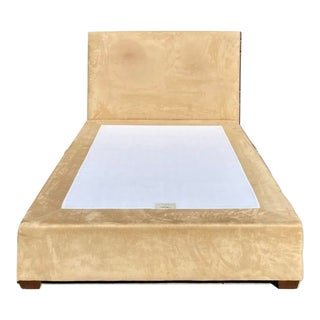 Pottery Barn by Mitchell Gold & Bob Williams Upholstered Queen Bedframe For Sale