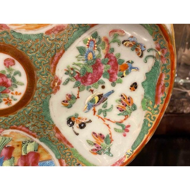 Famille Rose Shrimp Dish For Sale - Image 4 of 10