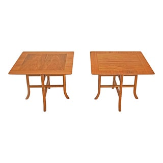 1950s Terence H Robsjohn Gibbings for Widdicomb Occasional Side Tables - a Pair For Sale