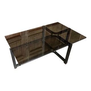 Dunbar Bronze, Rosewood & Smoked Glass Coffee Table