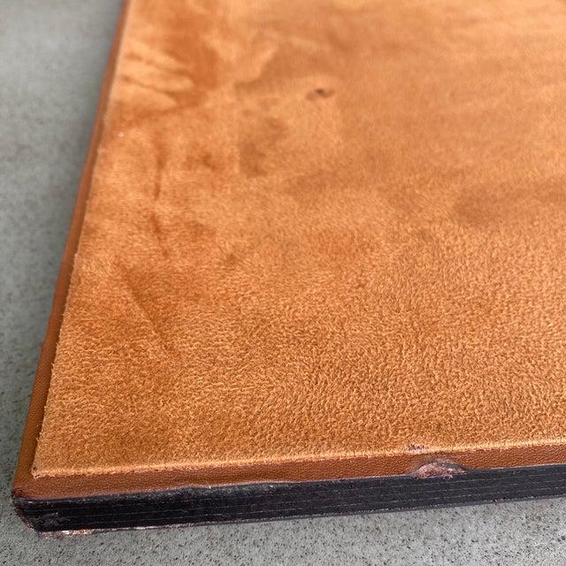 Ralph Lauren Brennan Leather Desk Blotter For Sale In Raleigh - Image 6 of 12
