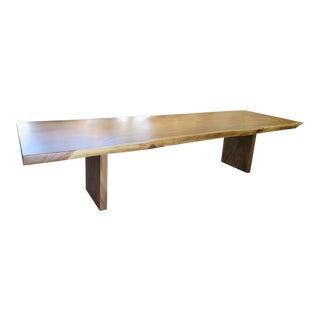 Albizia Wood Slab Table