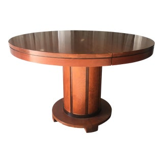 Stickley Round Pedestal Dining Table