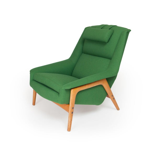 Danish Modern Dux Lounge Chair by Folke Ohlsson For Sale - Image 3 of 9