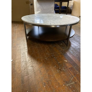Contemporary Mitchell Gold Tribeca Round Coffee Table Preview