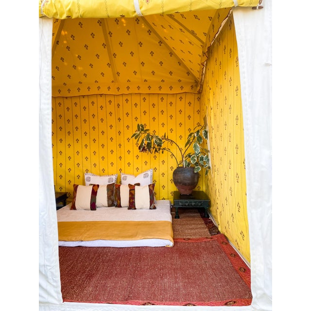 White Contemporary Maharani Garden Tent For Sale - Image 8 of 13