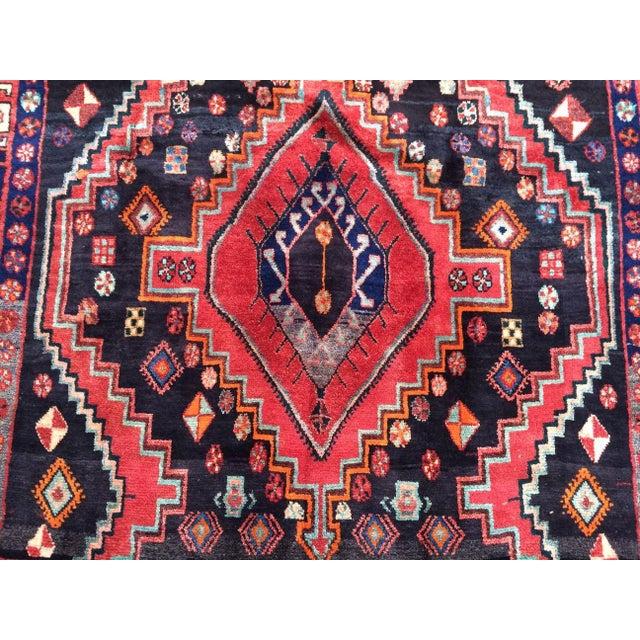 Persian Persian Handmade Rug For Sale - Image 3 of 4