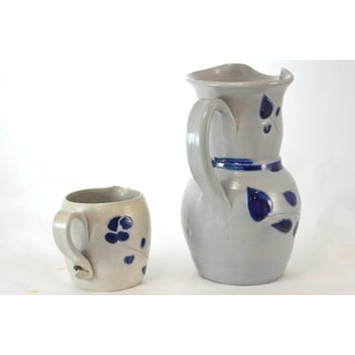 Blue Handcrafted Vessels - A Pair Preview