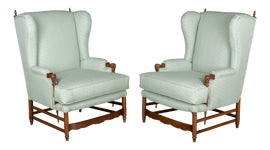 Image of French Wingback Chairs
