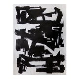Image of Abstract Painting - Original Black and White Contemporary Art For Sale