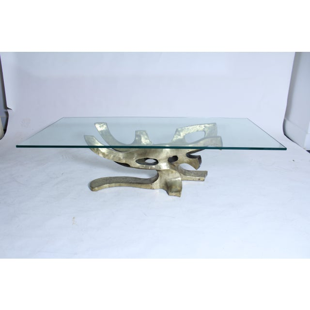 Sculptural Bronze Table Base For Sale - Image 4 of 7