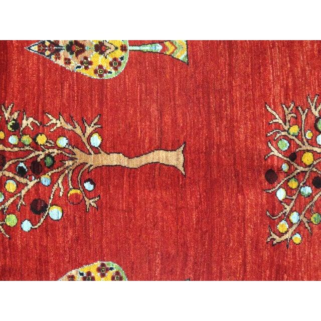Folk Art Pasargad N Y Persian Gabbeh Rug - 3′3″ × 5′ For Sale - Image 3 of 4