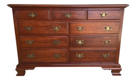 Image of British Colonial Dressers and Chests of Drawers