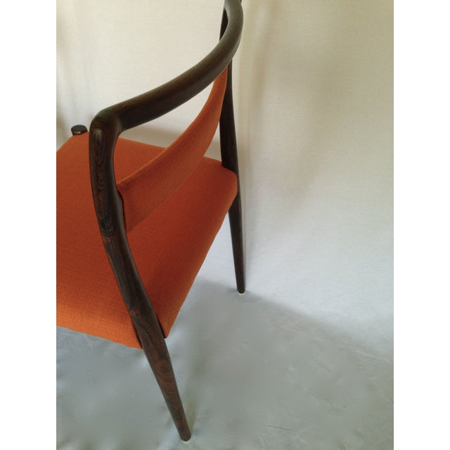 Mid-Century Rosewood Dining Chairs - Set of 8 - Image 10 of 10