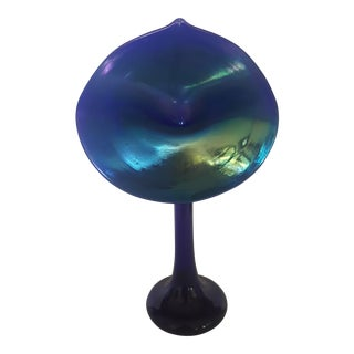 """Correia Art Glass """"Jack-In-The-Pulp Vase For Sale"""