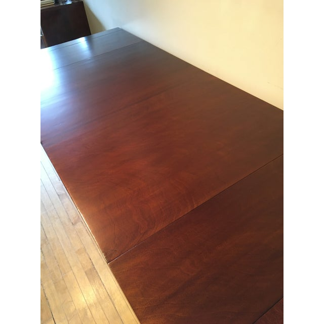 Mid-Century Modern Mid-Century Restored Robjohn Gibbings Dining Table For Sale - Image 3 of 8