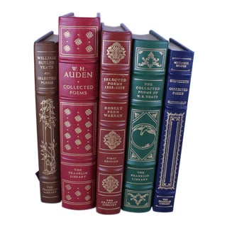 Collection of Poetry Books - Set of 5 For Sale
