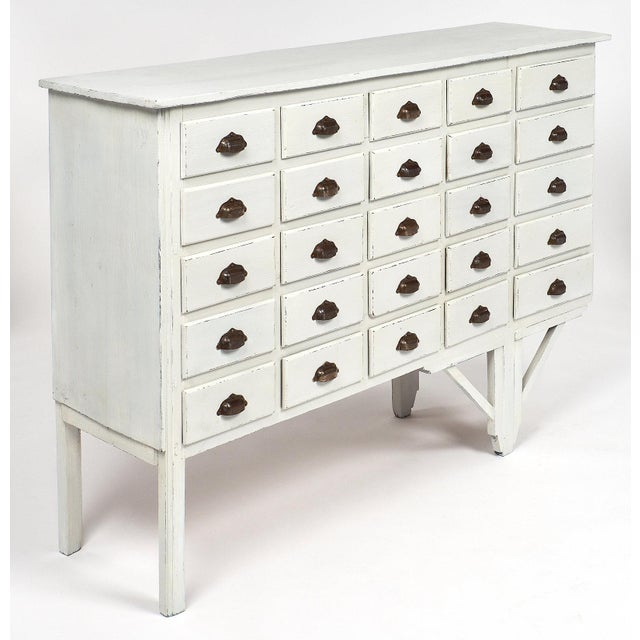 Antique French Haberdashery Cabinet For Sale - Image 4 of 11