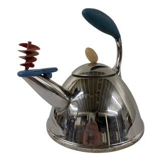 Vintage Post Modern Tea Kettle by Michael Graves For Sale