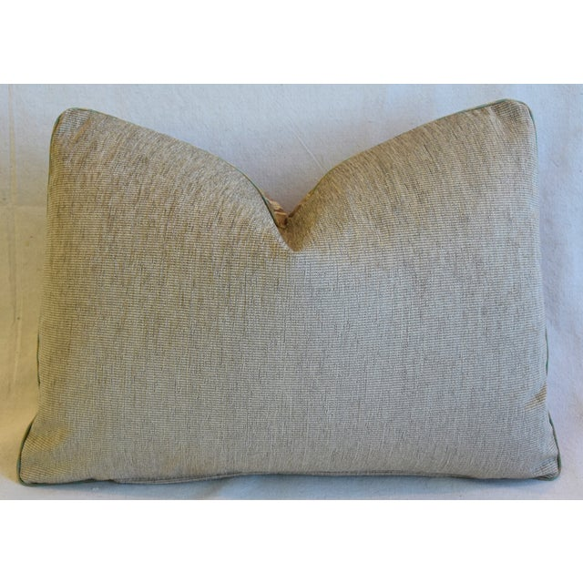"""Italian Mariano Fortuny Caravaggio Feather/Down Pillow 22"""" X 16"""" For Sale In Los Angeles - Image 6 of 8"""