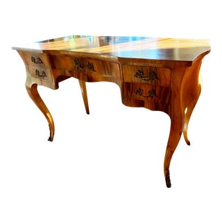 Vintage French Writing Desk For Sale