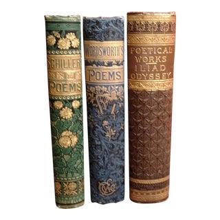 Gold-Leaf Poetry Book Set - 3 Pc. Set