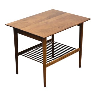 Solid Maple Planner Group End Table by Paul McCobb For Sale