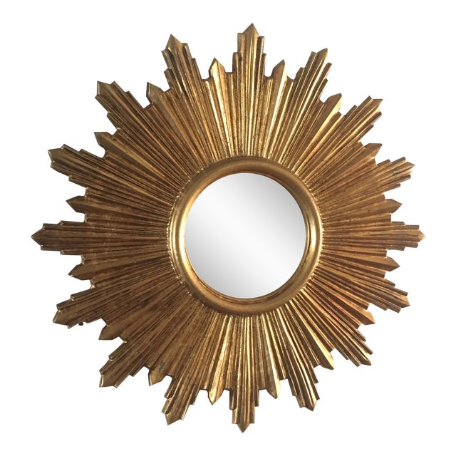 Italian Gilt Sunburst Mirror - Image 1 of 8