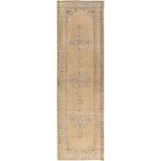 Vintage Distressed Turkish Runner 3'3 X 10'11