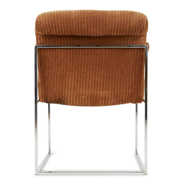 1970s Milo Baughman for Thayer Coggin Dining Armchairs - a Pair For Sale In Los Angeles - Image 6 of 9