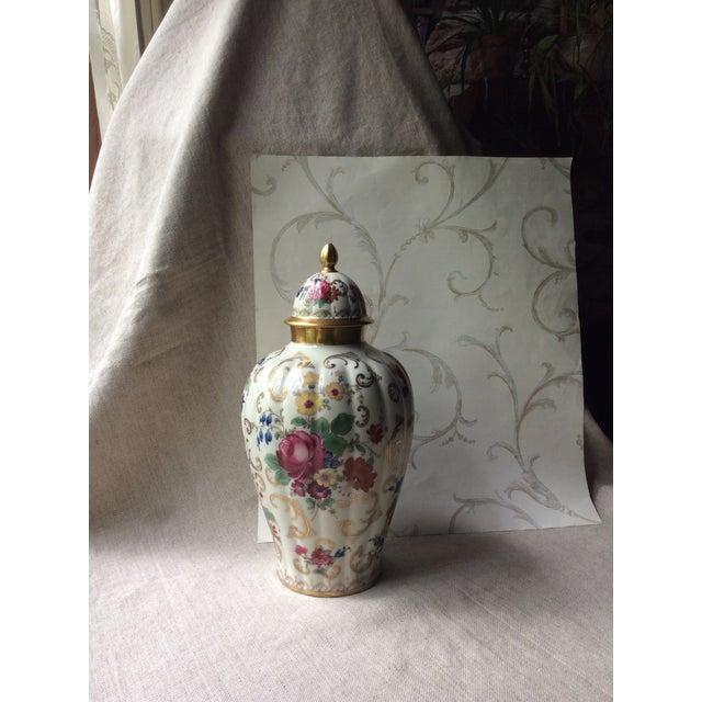 Antique Austrian Porcelain Temple Jar For Sale - Image 13 of 13