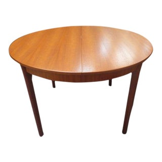 C.1960's Teak Dining Table. McIntosh Maker.
